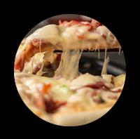 Hier gibt es unsere Pizzen