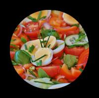 Hier gibt es unsere Salate